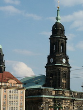 Kreuzkirche am Altmarkt in Dresden
